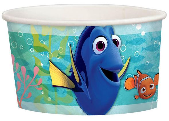 Finding Dory Treat Cups 240g Cardboard - Pack of 8