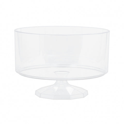 Trifle Container Small Plastic 15cm - Clear (Candy Buffet) - Each