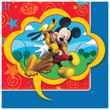 Mickey Mouse Beverage Napkins 25cm x 25cm 2 Ply - Pack of 16