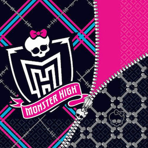 Monster High Luncheon Napkins