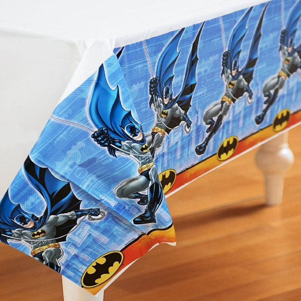 Batman Tablecover New Design Plastic 137cm x 243cm - Each