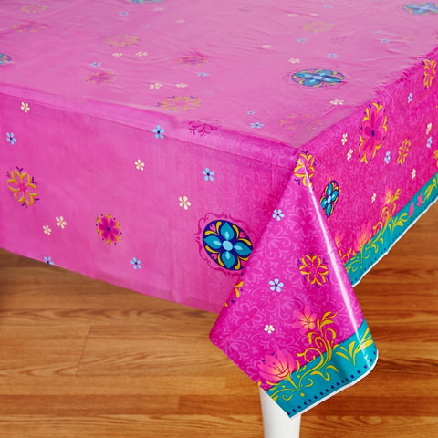 Frozen Tablecover Plastic (135cm x 240cm) - Each