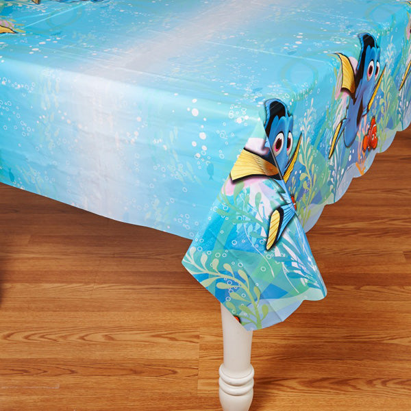 Finding Dory Tablecover Plastic 137cm x 243cm - Each