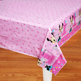 Minnie 1st Birthday Tablecover Fun To Be One Plastic 137cm x 243cm - Each
