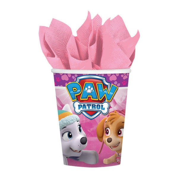Paw Patrol Girls Paper Cups