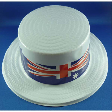 Hat Australia Day Plastic Vac Form One Size Fits Most - Each