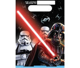Star Wars Classic Loot Bags Plastic - Pack of 8
