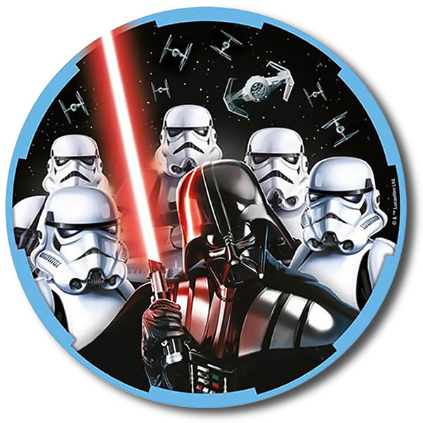 Star Wars Classic Luncheon Plates 23cm Paper - Pack of 8