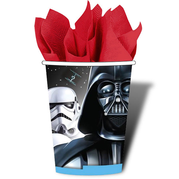 Star Wars Classic Cups 266ml Paper - Pack of 8