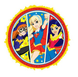 Super Hero Girls Pinata Pop Up Expandable  Pull String (Not suitable for Express Post due to size of product) - Each
