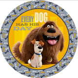 The Secret Life of Pets Dinner Plates 23cm Paper - Pack of 8