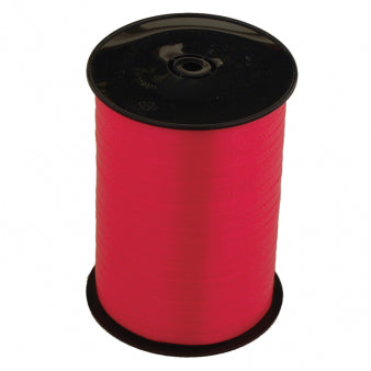 Ribbon Curling Red Roll 500m  - Roll
