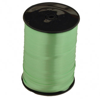 Ribbon Curling Citrus Lime Green Roll 500m  - Roll