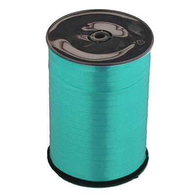 Ribbon Curling Teal Blue Roll 500m  - Roll