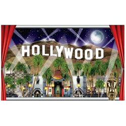 Scene Setter Hollywood Window View Give your window a view of Hollywood. (1.5 Metres Wide x 1 Meter High) - Each