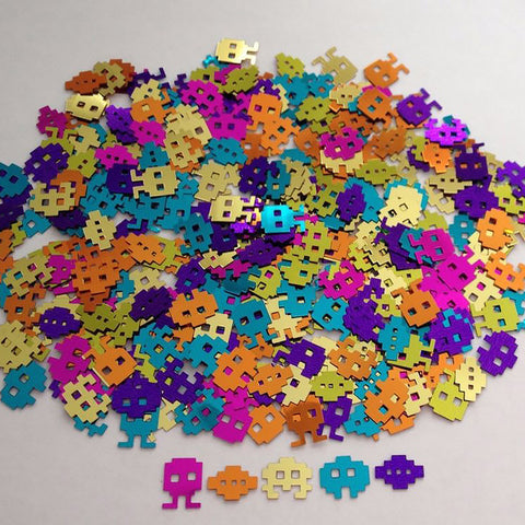 Confetti 80's Icons (Choking Hazard, not suitable for children under 3) - 14 Gram