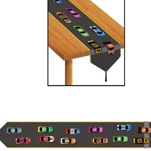 Table Runner Car Racing (27cm x 182cm) - Each