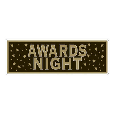 Banner Awards Night Sign