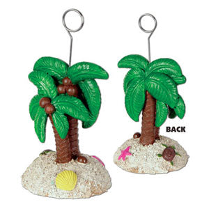 Photo Holder / Balloon Weight Palm Tree