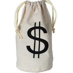 Money Bag $ with Drawstring