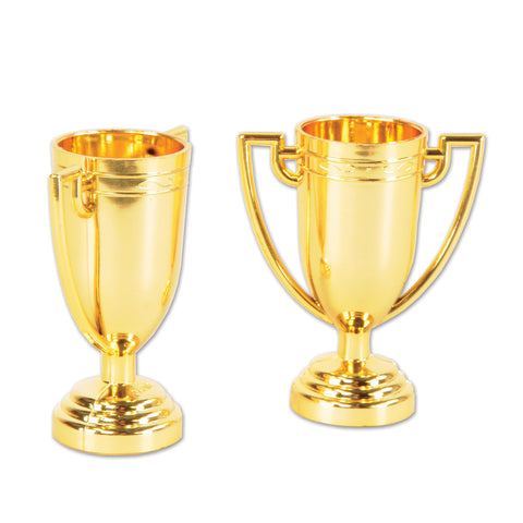 Trophy Cups Gold 5.7cm x 7cm  - Pack of 8