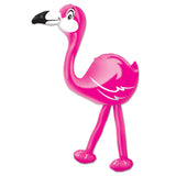 Inflatable Flamingo 61cm Plastic  - Each