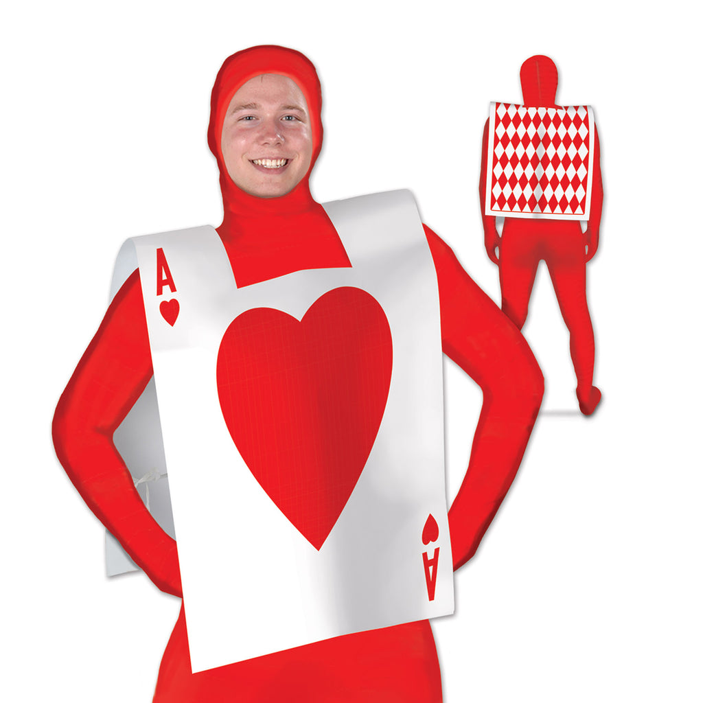 Alice in Wonderland Playing Card Suit Vest (Bodysuit not Included) - Each