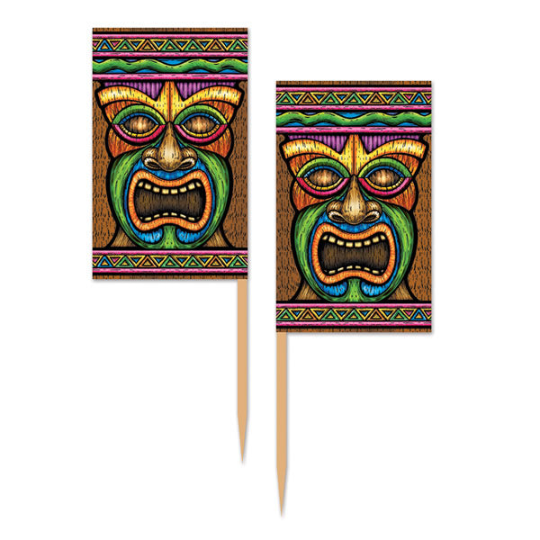 Tiki Picks Paper 6.4cm - Pack of 50