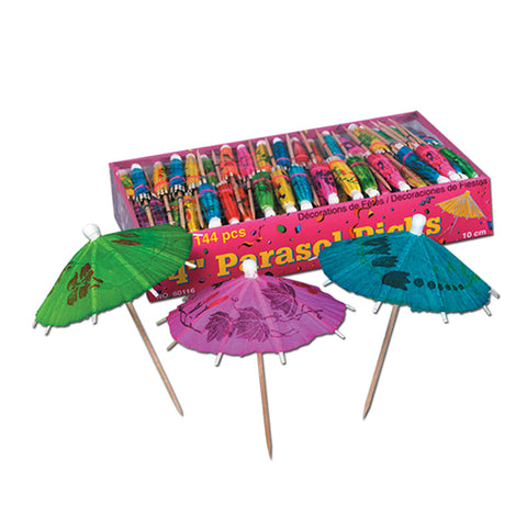 Parasol Party Picks 10cm  - Pack of 144