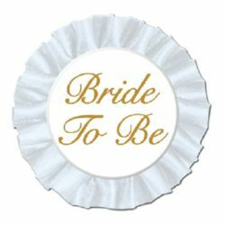Button Satin Bride To Be