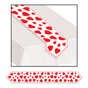 Table Runner Hearts