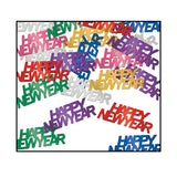 Confetti Happy New Year Multi Coloured (Choking Hazard, not suitable for children under 3) - 14 Gram