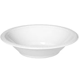Bowls Frosty White 18cm Plastic 355ml - Pack of 20