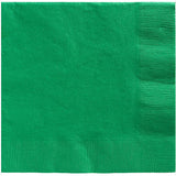 Beverage Napkins Festive Green 25cm x 25cm - Pack of 20