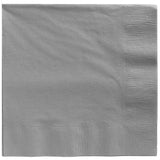 Luncheon Napkins Silver 2 Ply 33cm x 33cm - Pack of 20