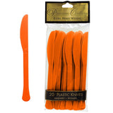 Knives Orange Peel Heavy Duty Plastic  - Pack of 20