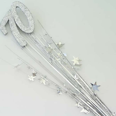 Spray Foam Stars 70 Silver