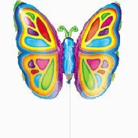 Mini Shape Bright Butterfly (Flat)