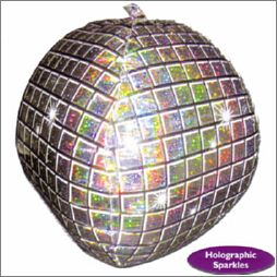 Shape Disco Ball Holographic 3D