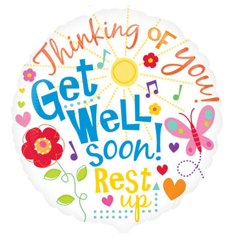 45cm Get Well Messages