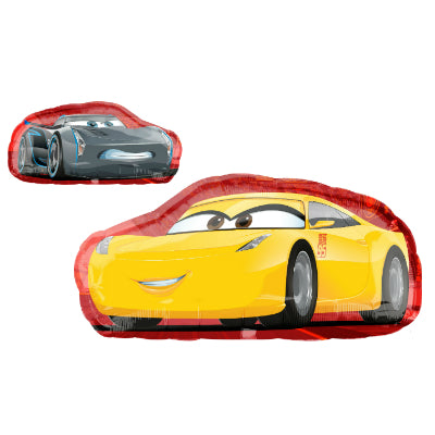 Shape Cars Cruz Jackson 88cm x 43cm Foil Balloon (Self sealing balloon, requires helium inflation) - Each
