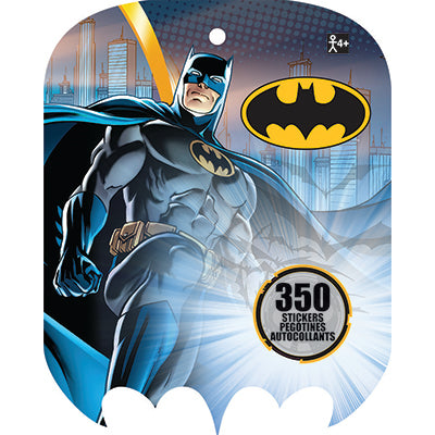 Batman Sticker Book Jumbo Favor 350 Stickers