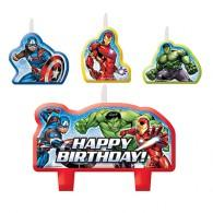 Avengers Epic Candle Set Happy Birthday