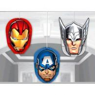 Avengers Epic Honeycomb Hanging Decorations