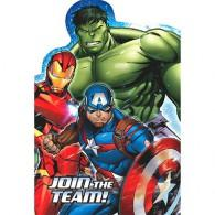 Avengers Epic Invitations & Envelopes