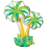 Shape Tropical Palm Trees