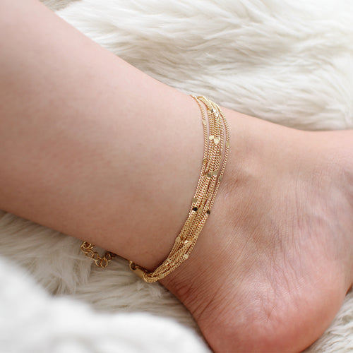 Desi Layered Anklet