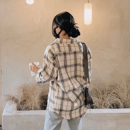 Alana Plaid Button Up Flannel