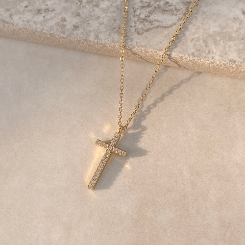 Reckless Love Cross Necklace