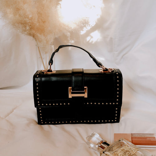 Blair Studded Bag - Black